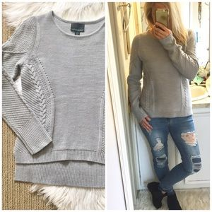 Cynthia Rowley Cable Sweater